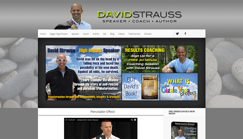 David Strauss, Speaker & Coach